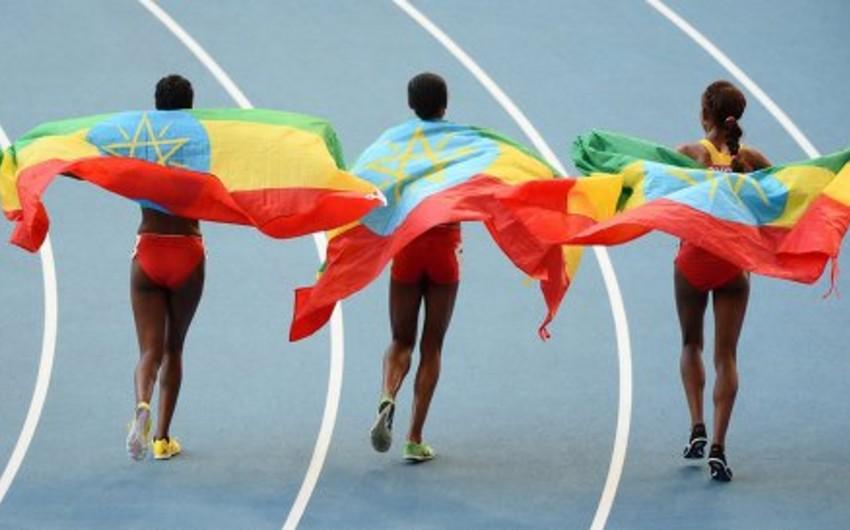 Efiopiyanın 9 atletində dopinq aşkarlanıb