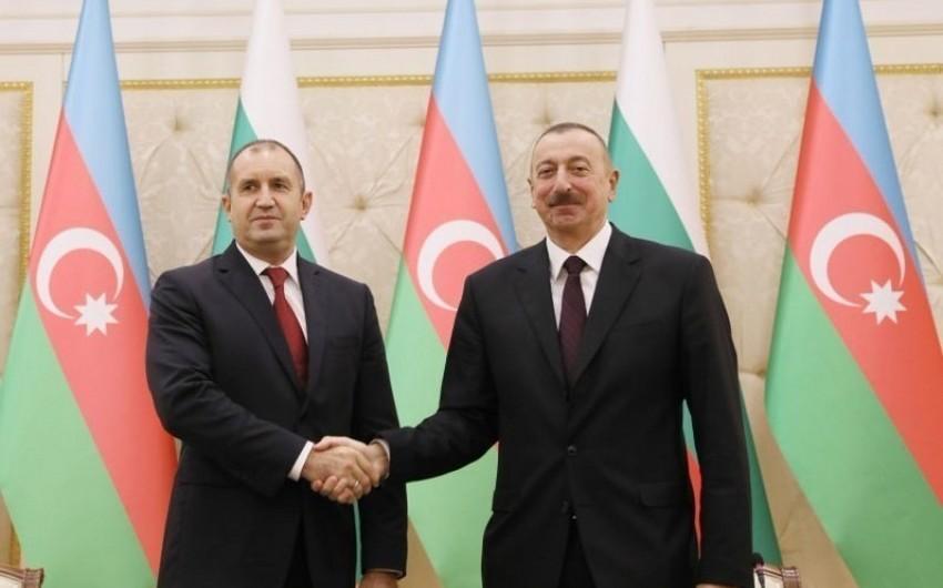 Prezident: Bolqarıstan Azərbaycanla strateji əməkdaşlığı inkişaf etdirəcək