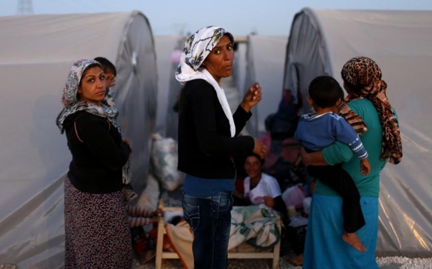 İŞİD Suriyada qadınları hərraca çıxarır