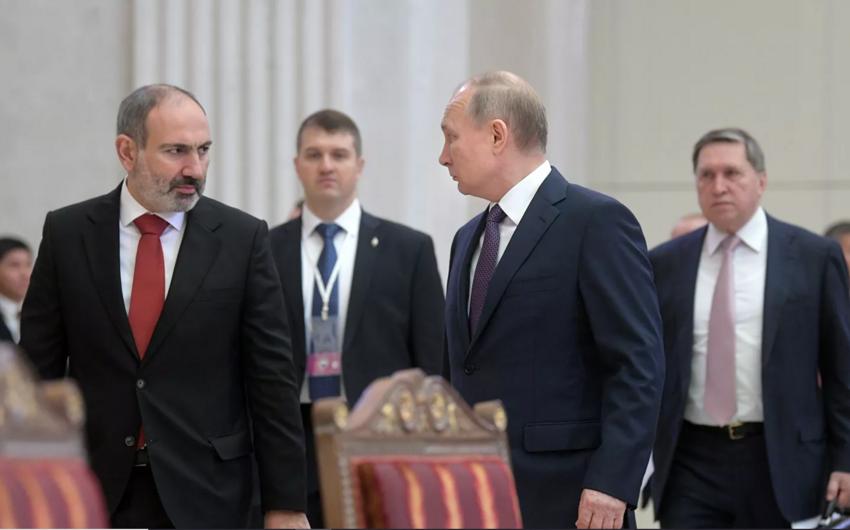 Paşinyan Putinlə Qarabağa dair danışıqların bir hissəsini açıqladı