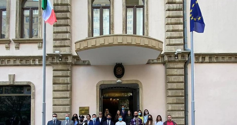 Посольство Италии переехало на новый адрес