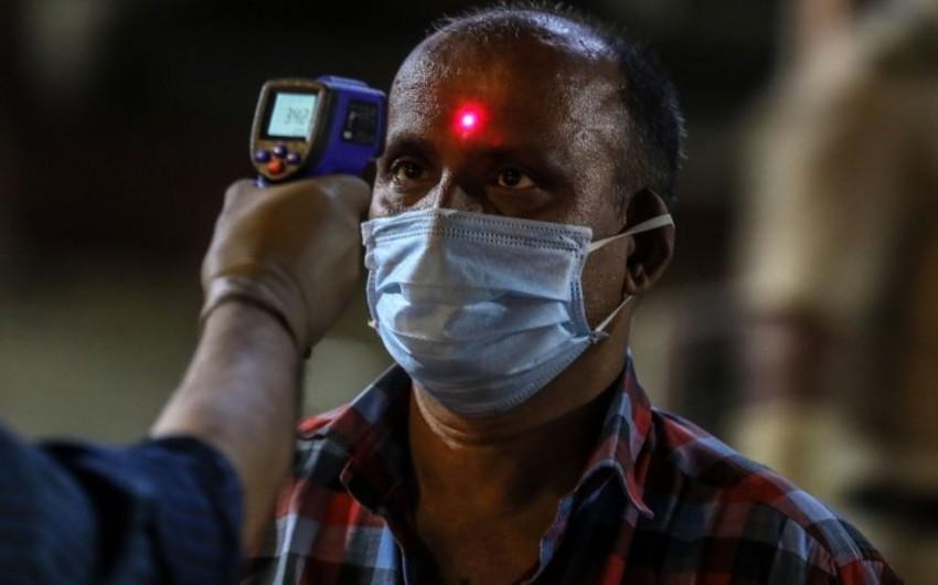 Hindistanda bir gündə 4 231 nəfər COVID19-a yoluxdu