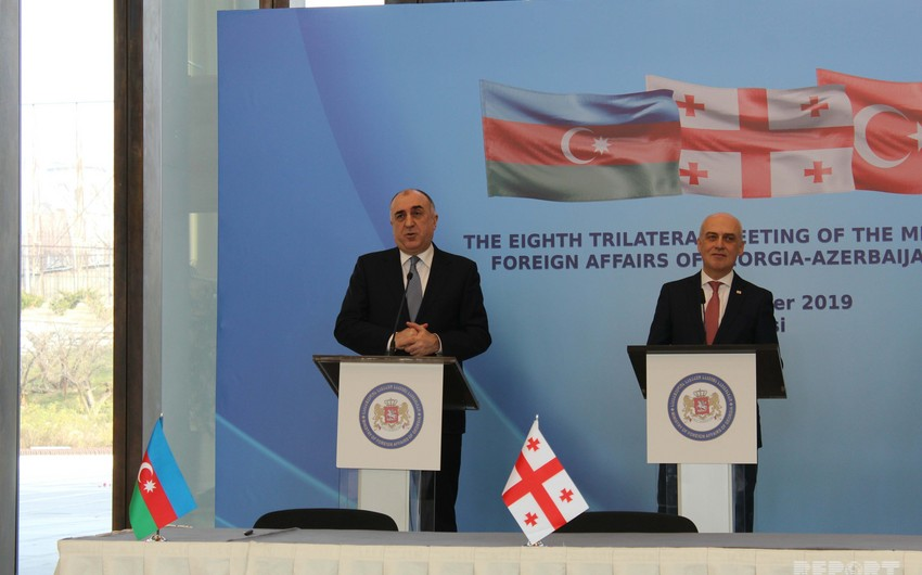 FM: We have big plans to strengthen Azerbaijani-Georgian-Turkish cooperation