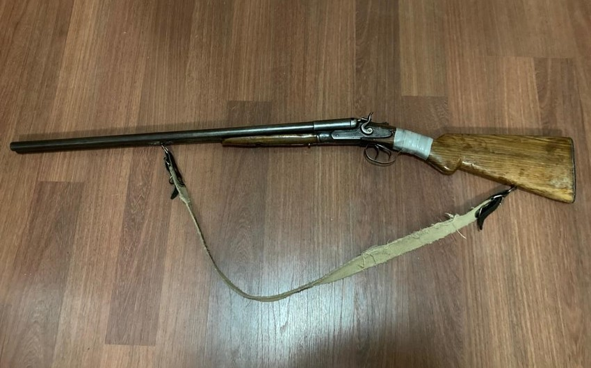 DYP əməkdaşları avtomobildə silah aşkarladı