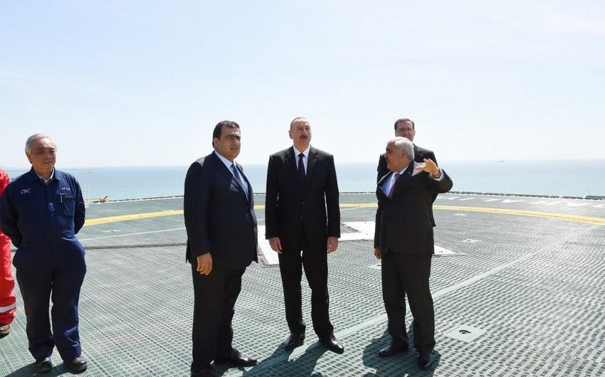 """İlham Əliyev: """"Cənub Qaz Dəhlizi layihəsi uğurla həyata keçirilir və icrasına vaxtında nail olacağıq"""""""