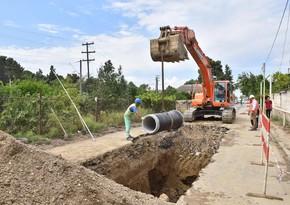 Qazaxın içməli su və kanalizasiya sistemləri yenidən qurulub