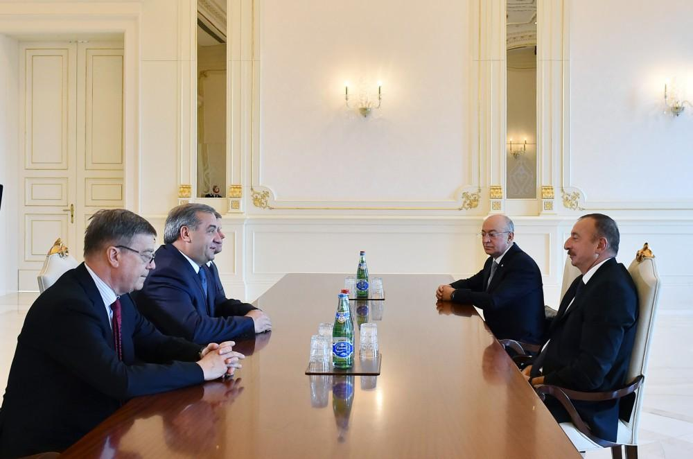 Azərbaycan Prezidenti rusiyalı nazir Vladimir Puçkovu qəbul edib - ƏLAVƏ OLUNUB