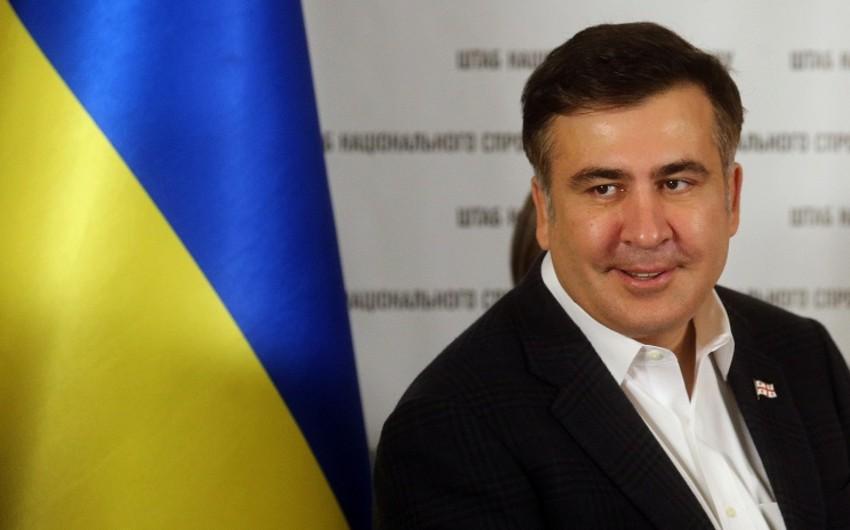 Saakaşvili: İqdisadi inkişaf templərinə görə Ukrayna Gabonun səviyyəsinə düşüb