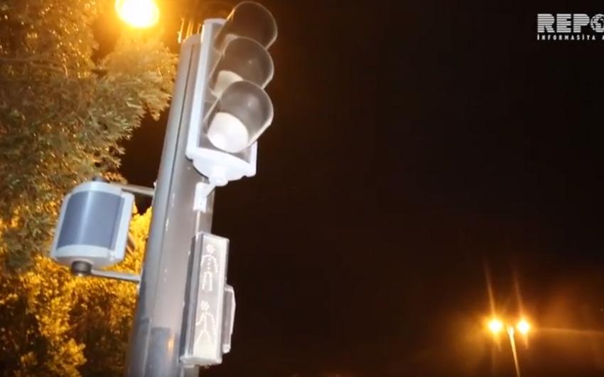 Bakıda bəzi işıqforların işləməməsi sürücülərə problemlər yaradıb - VİDEO