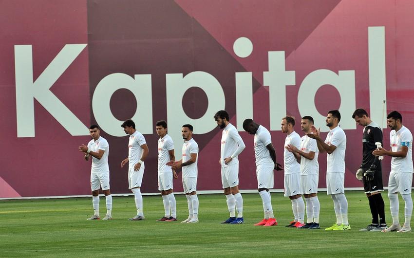 Keşlə Avropa Liqası matçı üçün 22 futbolçu sifariş etdi