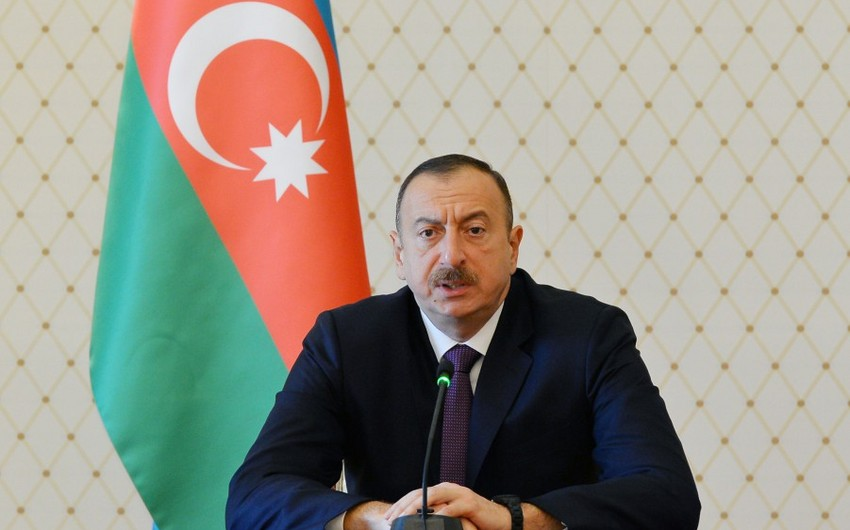President Ilham Aliyev receives heads of diplomatic missions and international organizations of Muslim countries on Ramadan