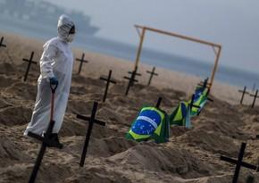 COVID-19 Braziliyada 72 mindən çox insanın ölümünə səbəb oldu