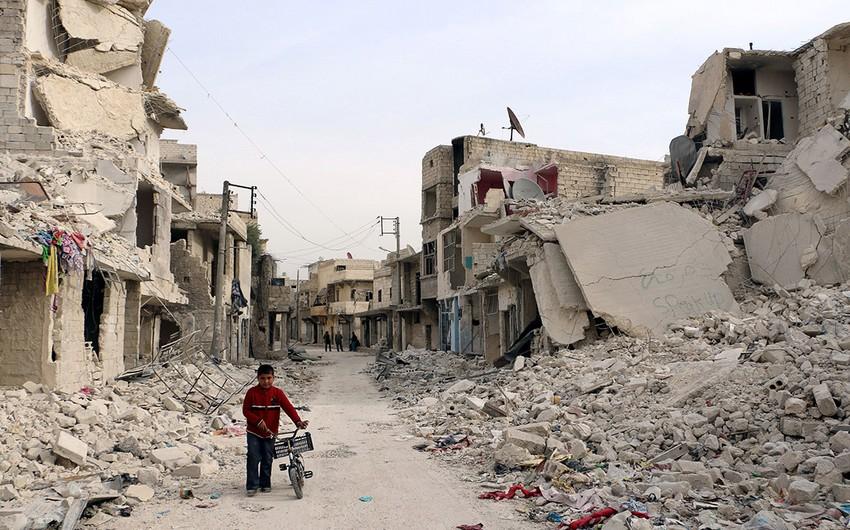 Suriyanın Hələb şəhərində 10 saat humanitar fasilə başlayıb