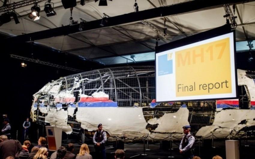 """Beynəlxalq Araşdırma Qrupu: """"Malayziyanın """"MH-17"""" təyyarəsi Rusiya ordusuna aid raketlə vurulub"""""""
