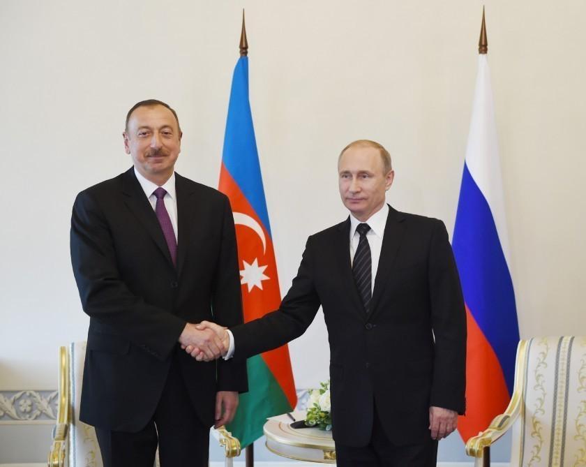 Президент Азербайджана поздравил Владимира Путина с успешным проведением чемпионата мира по футболу