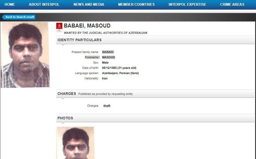 Еще один человек объявлен Азербайджаном в розыск по линии Интерпола