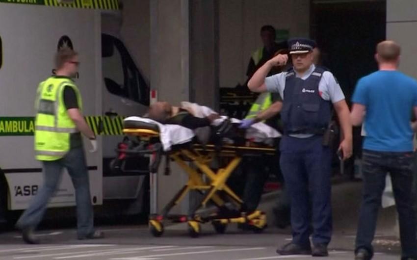 Yeni Zelandiyada məscidlərdə atəş açılmasından sonra 4 nəfər saxlanılıb - VİDEO