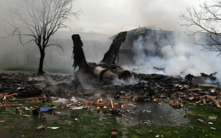 ABŞ-ın qırıcı-bombardmançısı təyyarəsi Yaponiyada qəzaya uğrayıb