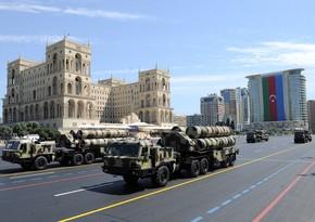 На параде было продемонстрировано уничтожившее противника современное оружие ПВО