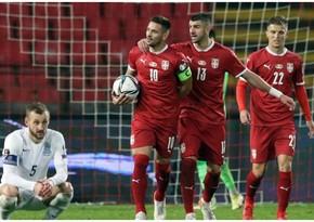 Serbiyalı futbolçu: Azərbaycanla oyunda çətinlik çəkdik