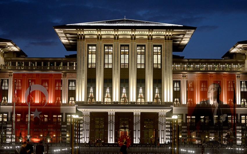 Türkiyədə Prezident Sarayının adı dəyişdiriləcək
