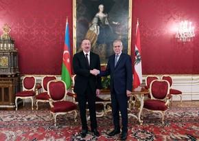 Avstriya Prezidenti İlham Əliyevi təbrik edib