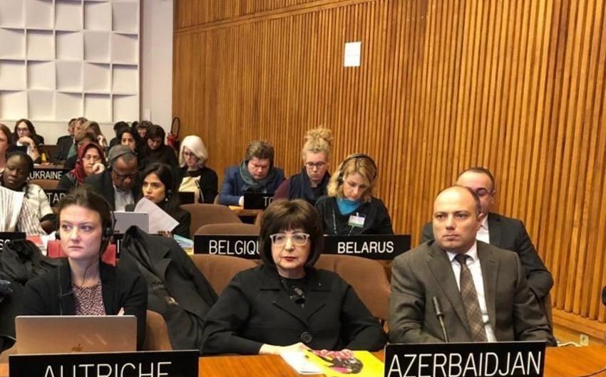 Mədəniyyət nazirinin müavini YUNESKO Komitəsinin sessiyasında iştirak edir