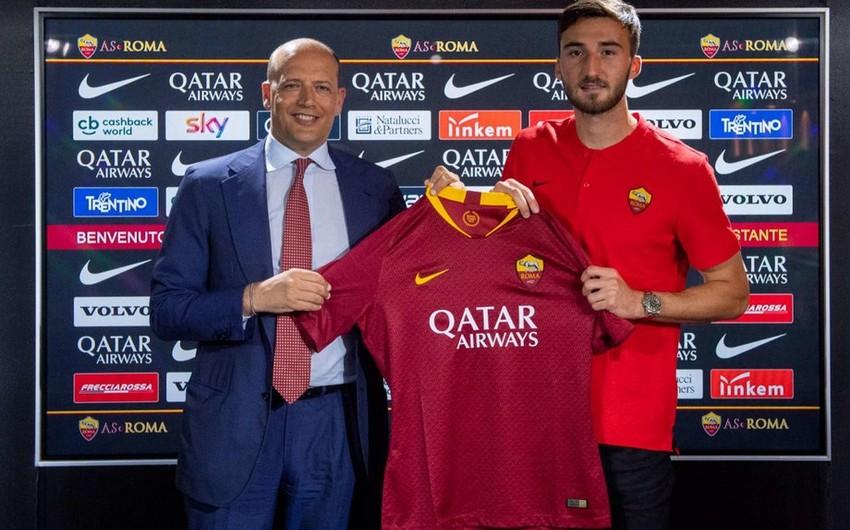 Roma İtaliya millisinin futbolçusunu transfer edib