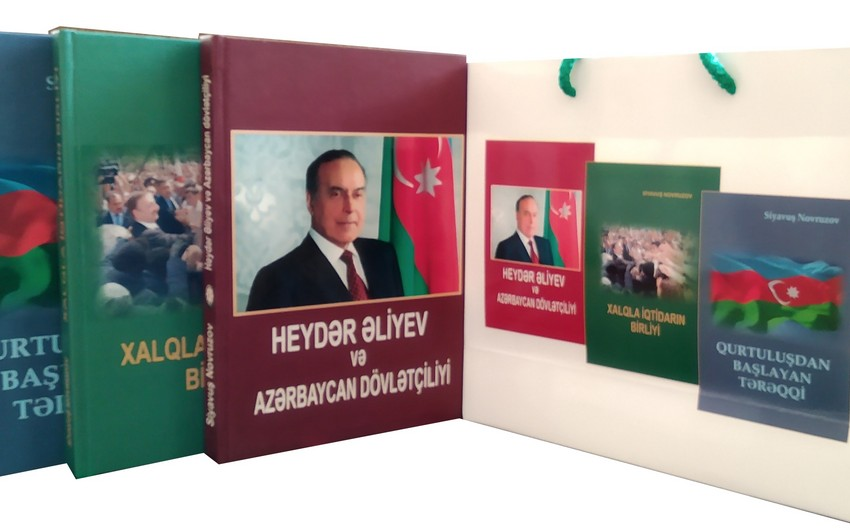 Siyavuş Novruzovun üç kitabı çapdan çıxıb