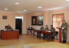 Azərbaycan Ordusunun antiterror əməliyyatına hazırlığı barədə tapşırıqlar verilib