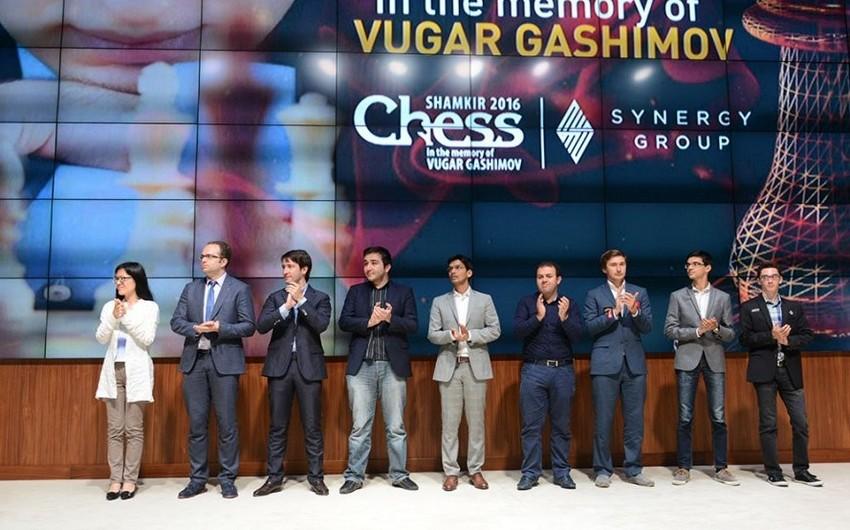 Shamkir Chess 2017 superturnirinin püşkü atılıb