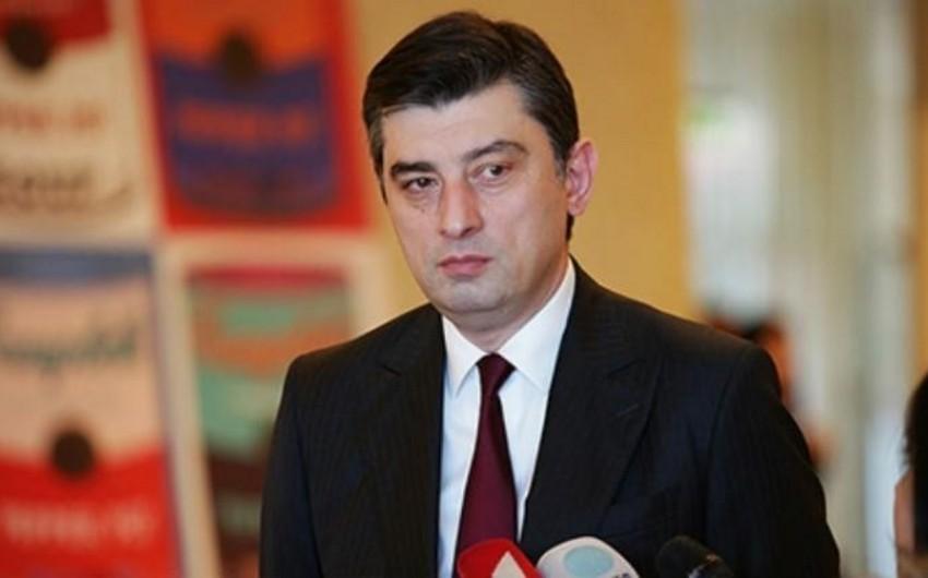 """Gürcüstanın baş naziri: """"Bölgədə sabitlik əsas məqsədimizdir"""""""
