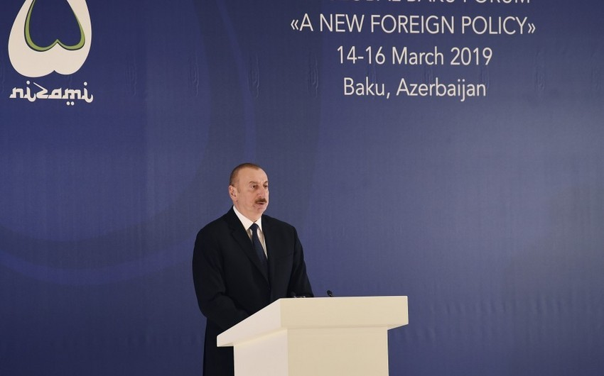 Azərbaycan Prezidenti: Biz enerji və nəqliyyat sahəsində geniş əməkdaşlıq formatı yarada bilmişik