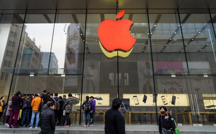 """Apple"" Çindəki bütün mağazalarını bağlayıb"
