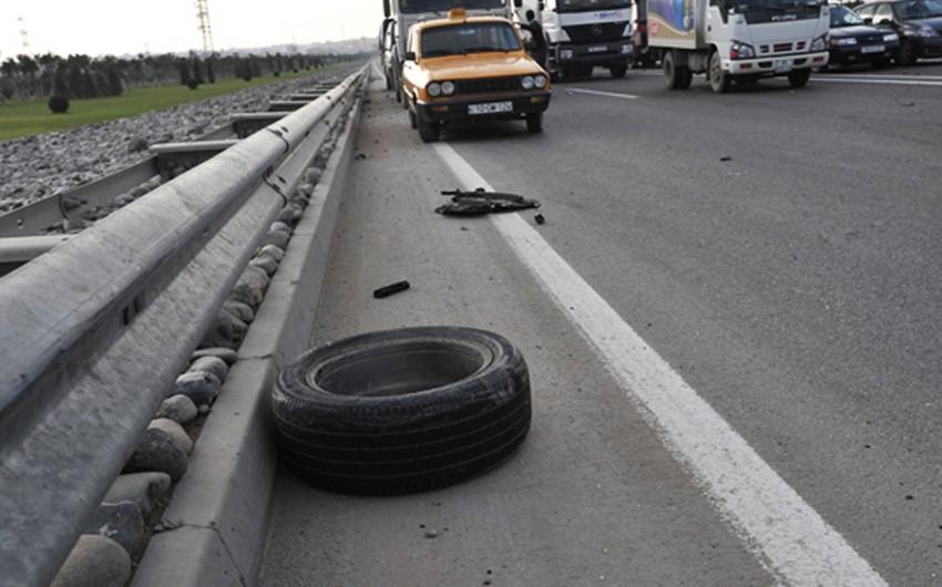 Şirvanda yol qəzası: ölən və yaralananlar var