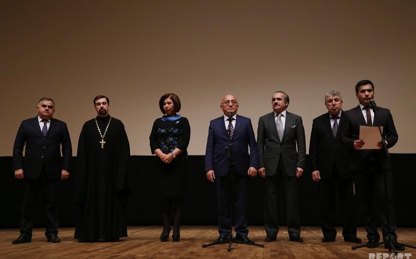 """Bakıda """"Vandalizm"""" sənədli filminin təqdimatı olub"""