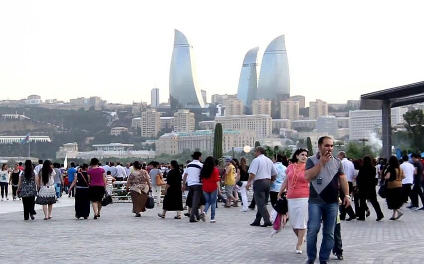 Azərbaycan əhalisinin sayı 9 milyon 666 min nəfərə çatıb