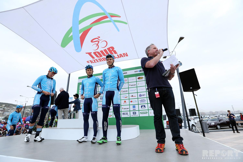 """В Баку дан старт велотуру Tour d'Azerbaidjan-2017"""""""