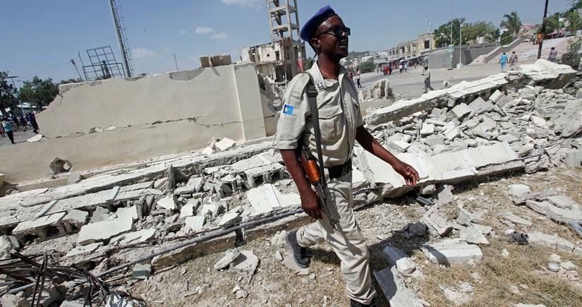 Somalidə partlayış törədilib, 7 sülhməramlı hərbçi ölüb