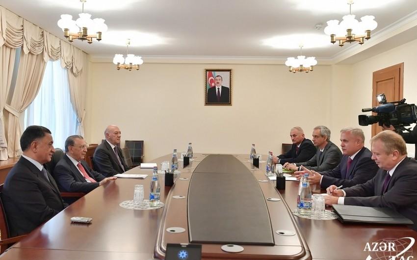 Глава Администрации президента Азербайджана встретился с госсекретарем Совбеза Беларуси