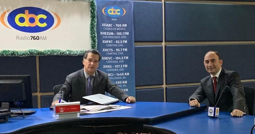 Meksika radiosunda Qarabağda aparılan yenidənqurma işlərindən danışılıb