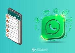 """NRYTN: """"WhatsApp"""" istifadəçilərinə qarşı """"fişinq"""" hücumlar həyata keçirilir"""
