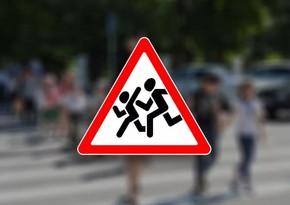 В Баку 10-летнего ребенка сбил автомобиль