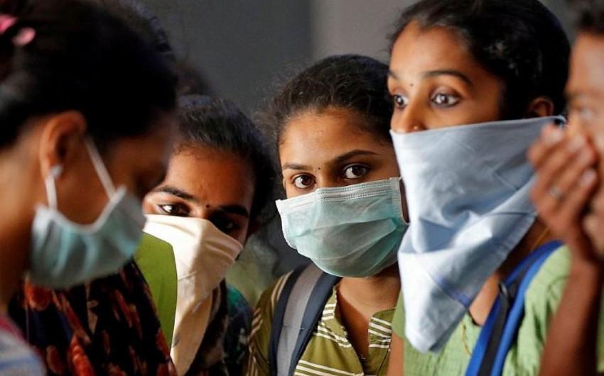 Hindistanda 9 125 nəfər koronavirusa yoluxub