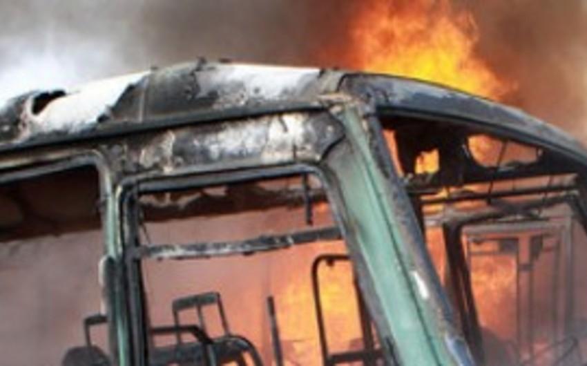 Əfqanıstanda avtobusun partladılması nəticəsində 10 nəfər ölüb, 4 nəfər yaralanıb