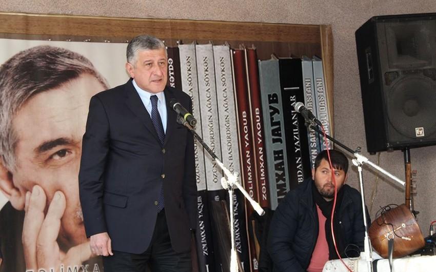 Zəlimxan Yaqubun 70 illiyi Gürcüstanda qeyd olunub