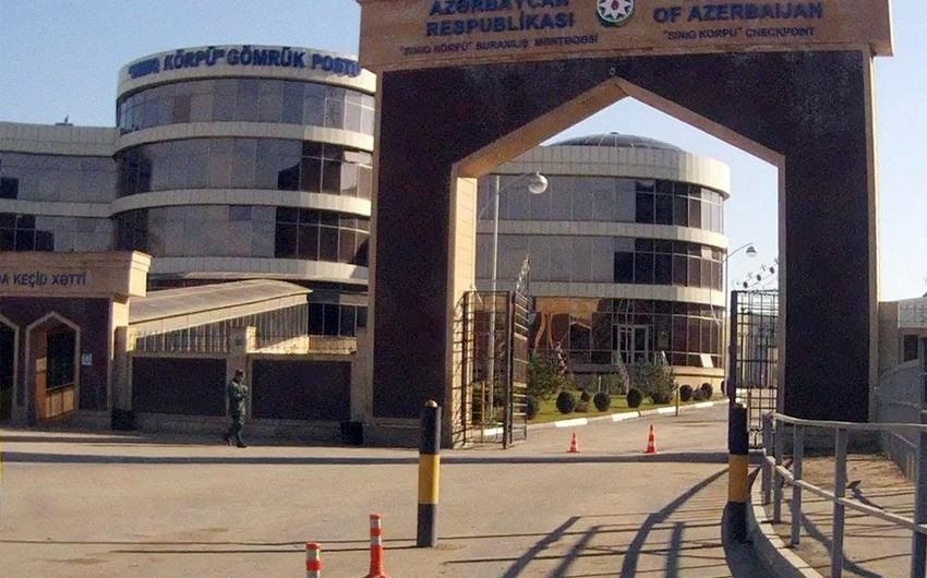 """""""Qırmızı Körpü"""" buraxılış məntəqəsindəki son vəziyyət açıqlandı - VİDEO"""