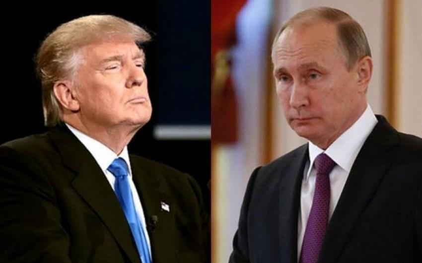 Tramp Avropaya səfəri zamanı Putinlə görüşməyi planlaşdırır
