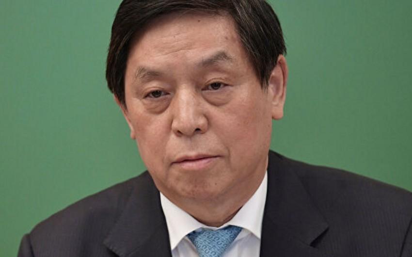 Глава Постоянного комитета парламента Китая посетит Азербайджан