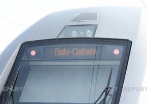 АЖД: Тарифы на проезд в поезде Баку-Габала пока не установлены